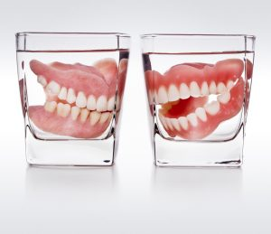 Dentures in Arlington are crafted from durable acrylic